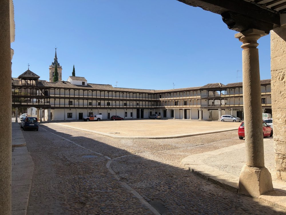 IT WAS ALSO USED AS A BULLFIGHT RING