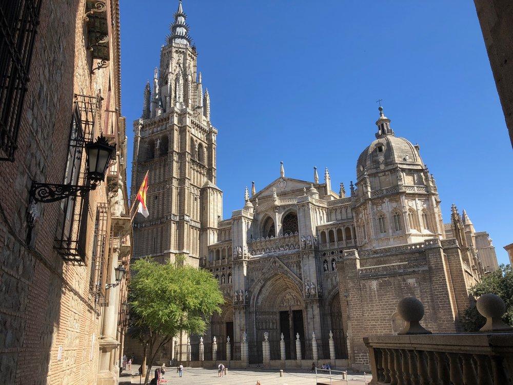 Copy of Toledo Cathedral, main door.