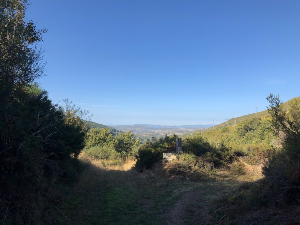Looking ahead into the final section of the Camino, the Province of Galatia