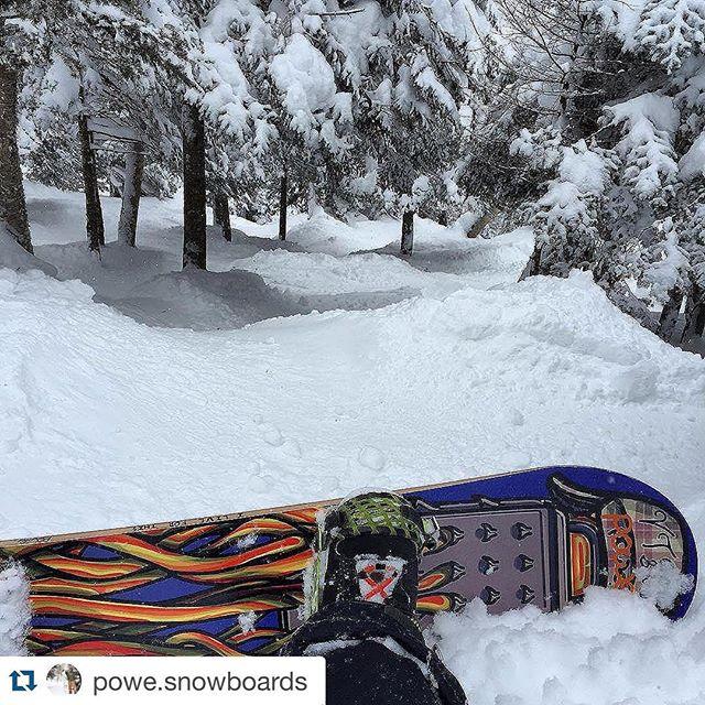 #whatsyourline #rideGreen #ridepowe #repost @powe.snowboards with #repostapp