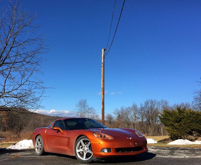 Nice day to push some chevy power.  #c6 #dirtyvette