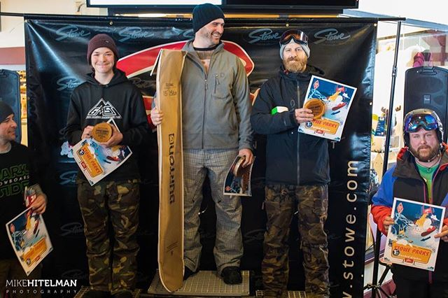 Awesome weekend placed 3rd in the Stowe banked slalom . Thanks @stoweparks for making the course . @doneksnowboards #doneksnowboards @gmavermont #gmavt @vtpeanutbutterco #vtpb