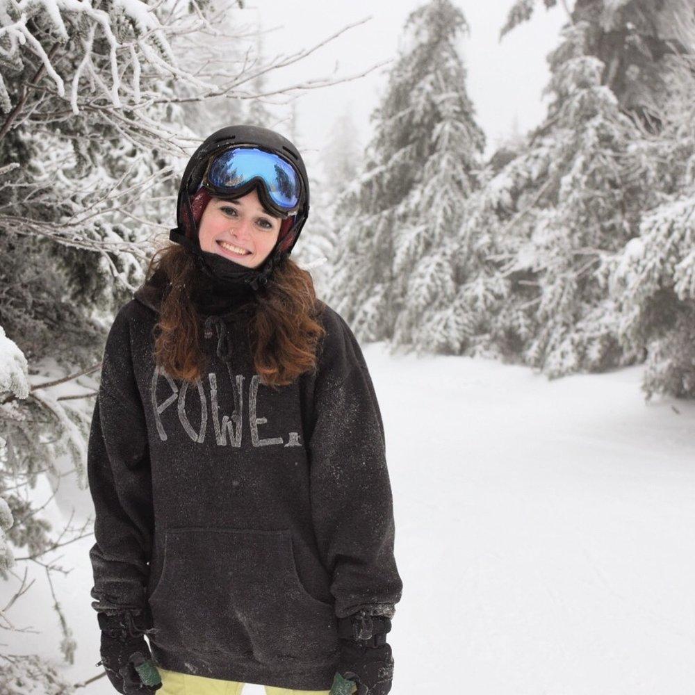 Stefanie Berlow - Powe. Snowboards - Stowe, Vt - Riders