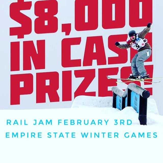Rail jam at Titus this weekend big prize purse! If you have and question message me!