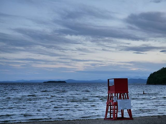 N. Beach, Champlain.