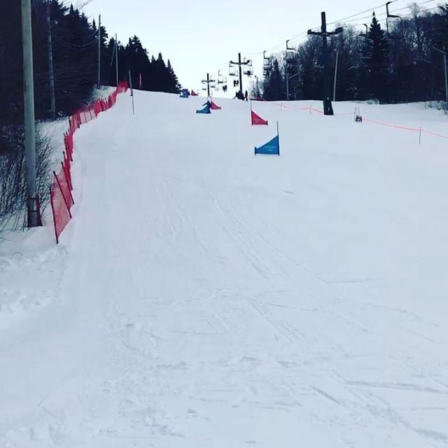 Double Golds in Slalom and Giant Slalom!  @gmavermont @boltonvalley  @nvt.usasasnow @powe.snowboards  #werusasa #smoothandfastride #burtoncustomx  #snowboardracing #snowboardingmakesmehappy