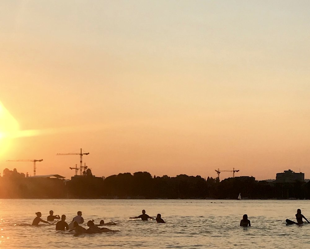 Paddle Abend | July 2018