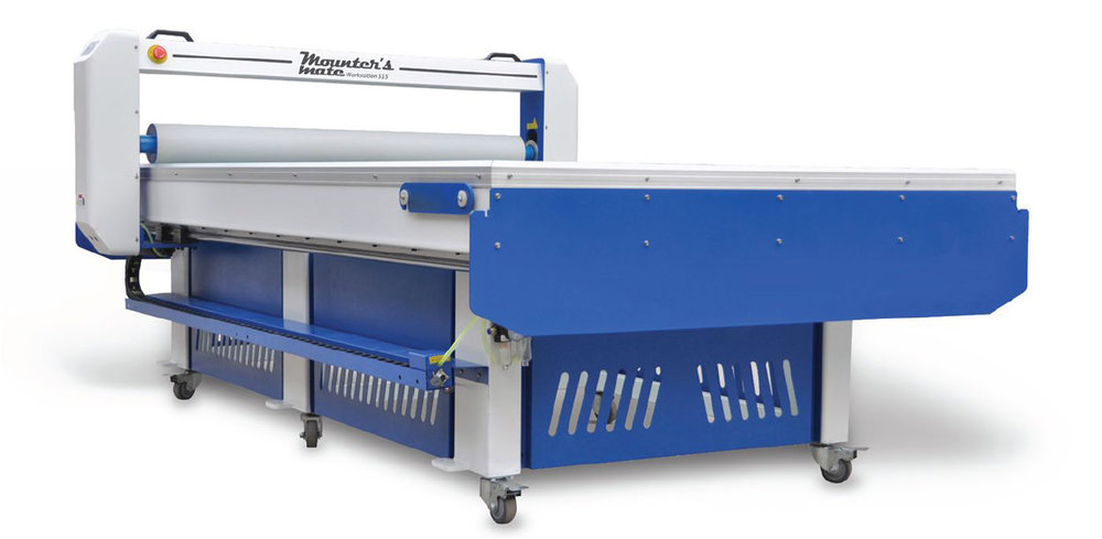 Flatbed applicator table - Mounter's Mate Workstation