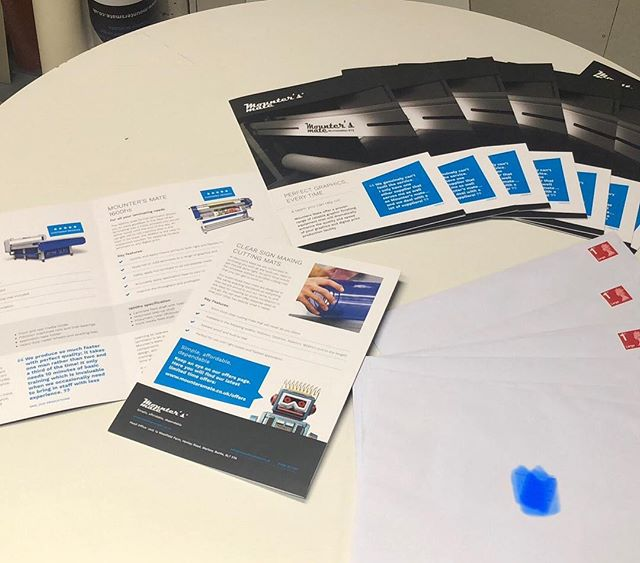 Is direct mail really dead? We seem to get a good response from physically sending out our brochures. Do you mind receiving direct mail? Do you even open it? ... #directmail #wideformatprinter  #signmaker #flatbedapplicator #mountersmate #signage #customers #marketing #advertising #print