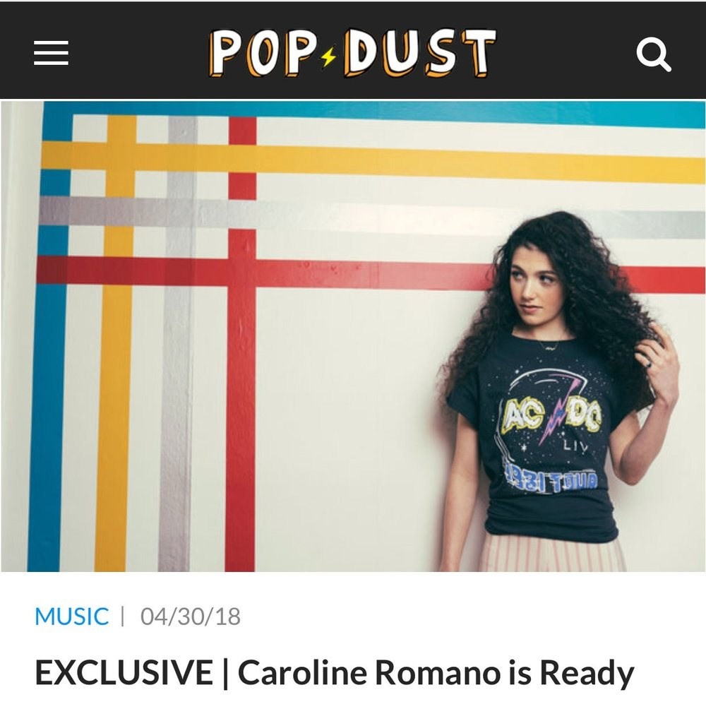 Pop Dust - Ready Video Premiere