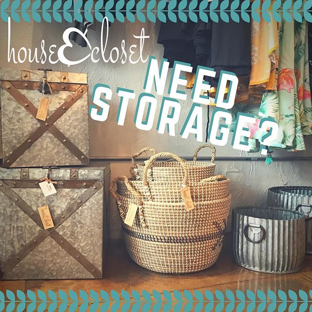 Bring a casual, easy style to home organization. Ideal for stowing pillows, media components, towels & other everyday essentials, our unique & decorative storage is as versatile as you need them to be. #storagesolutions