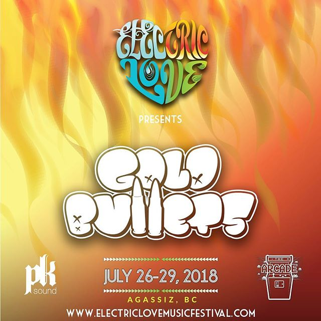 @electriclovemusicfestival is gone be wild! . . . . #festival #goldbullets #2018 #basshouse #bass #music #electrohouse #bassmusic #arcade #stage #summer