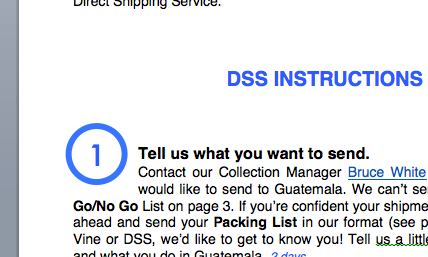 - DSS Instructions