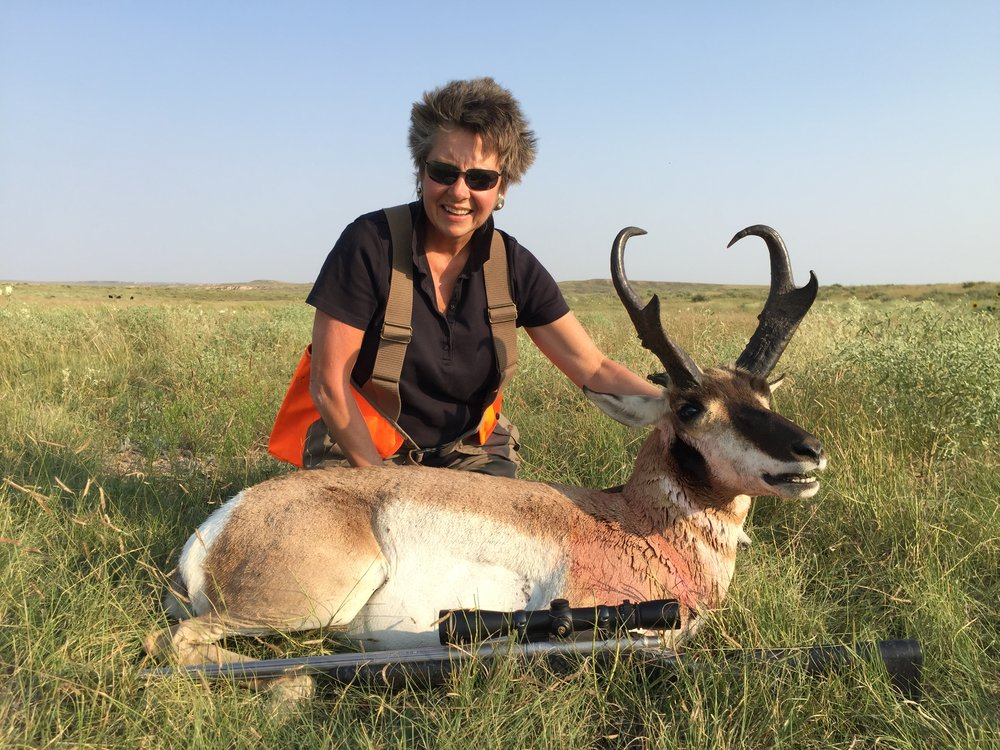 Title - I got a great buck antelope this year!