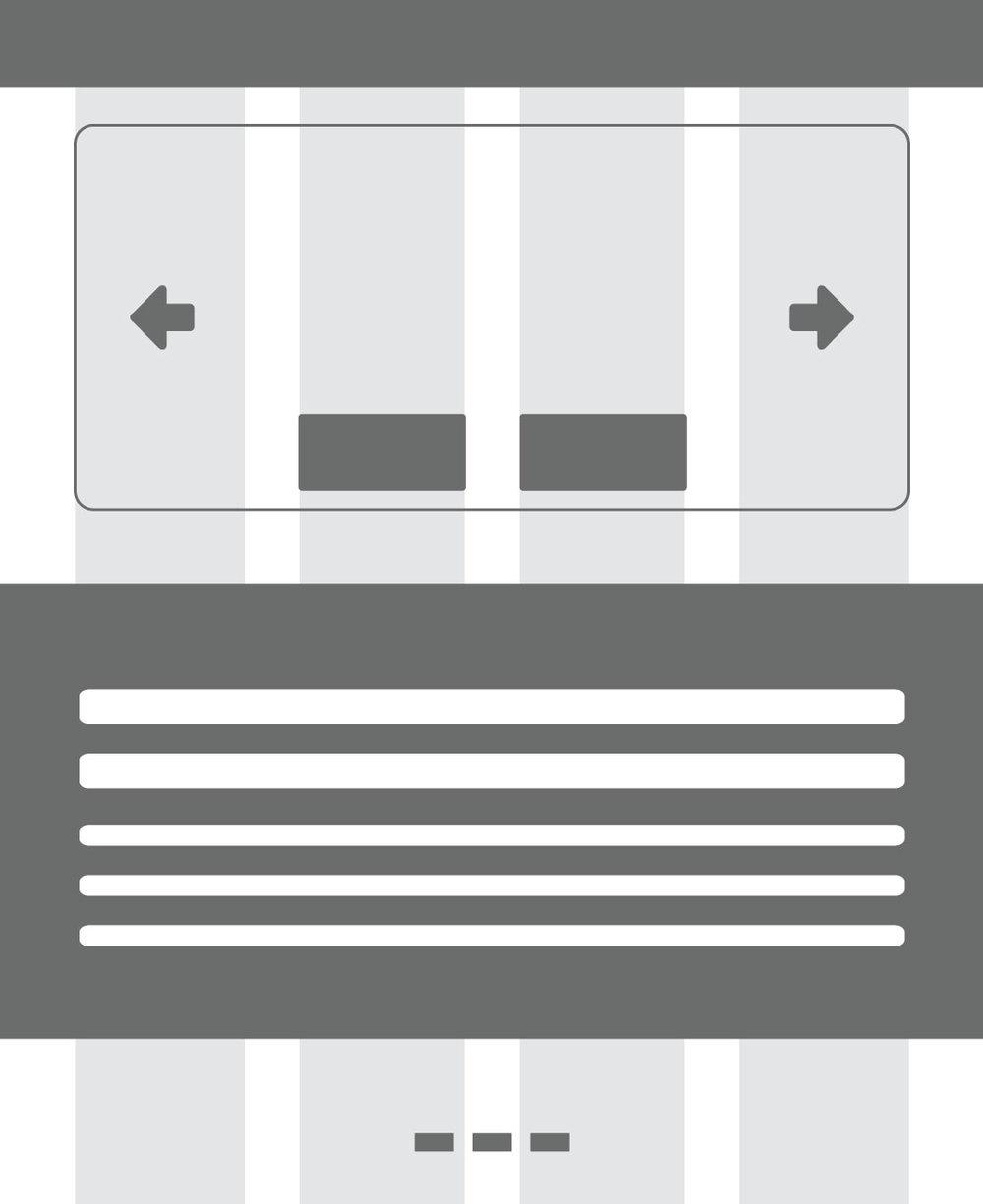 Wireframe Option 1