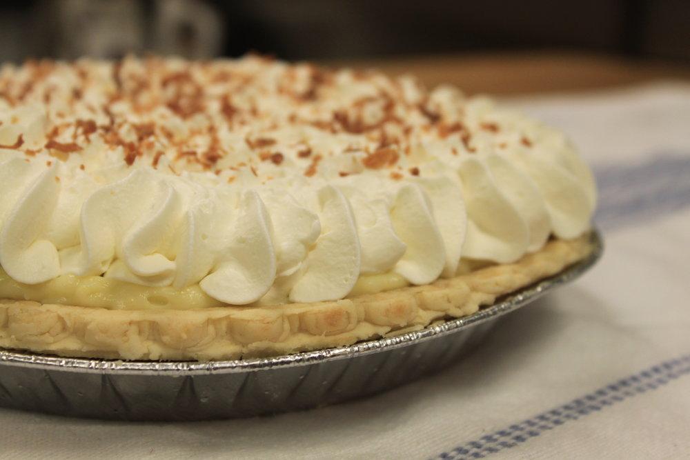 Creme, Custard, & Meringue Pies