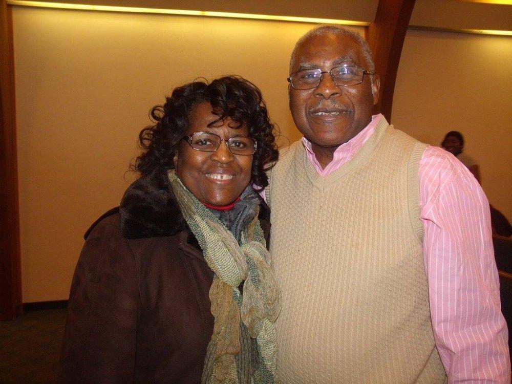 Dr Fowler & Wife Ella