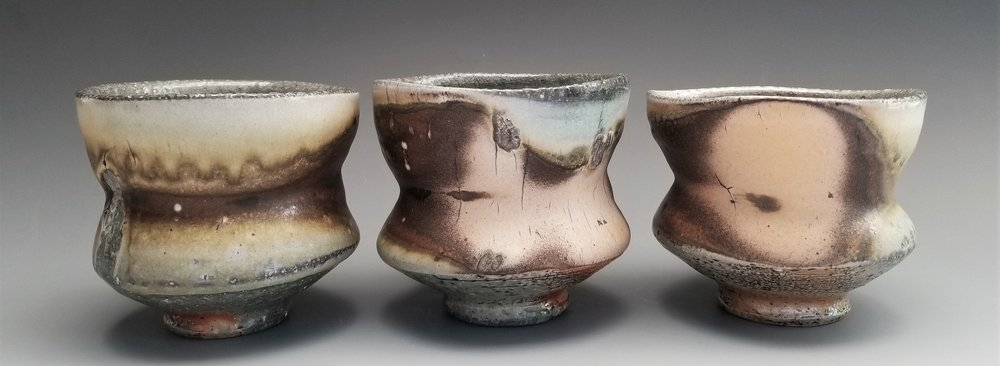 Soda Fired Tea cups