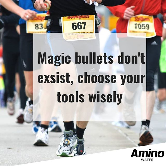 There aren't any magic bullets in health and performance. Educate yourself, find what works for you and get to work. If you want to upgrade your recovery products get your free amino water sample- LINK IN BIO #drinkaminowater #drinkaminos