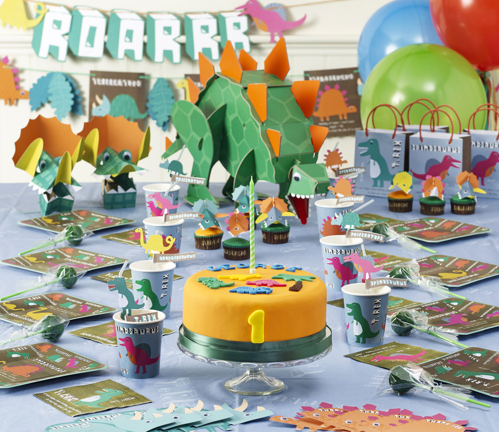 Childrens-Dinosaur-Party
