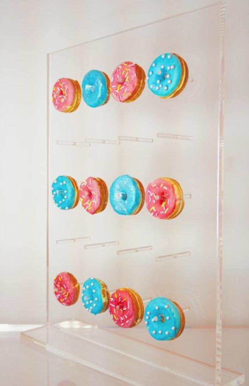 Mini perspex donut stand.