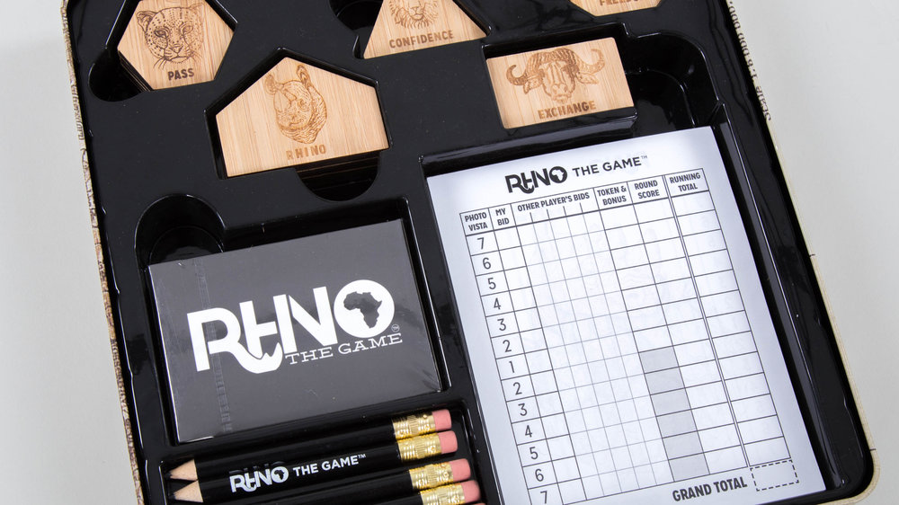 Rhino The Game components