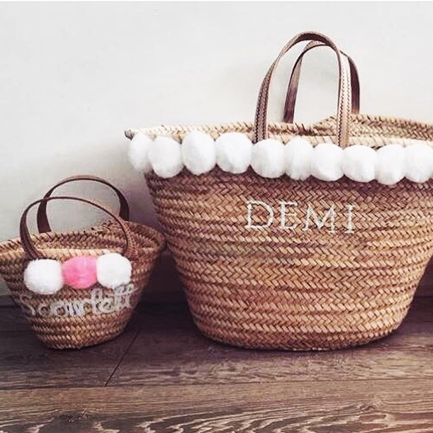 PLAIN LARGE BASKET - £60.00