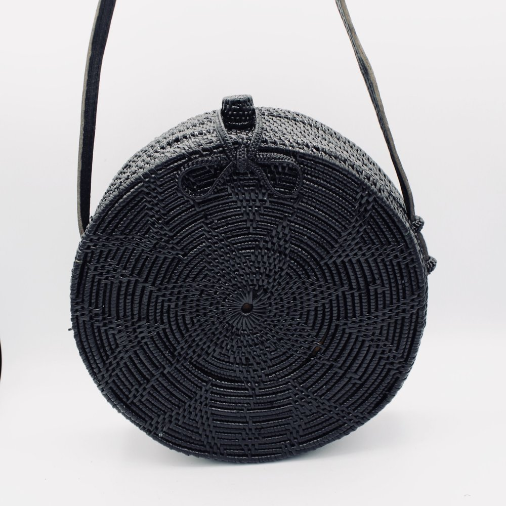 THE BLACK ATA BAG - £55
