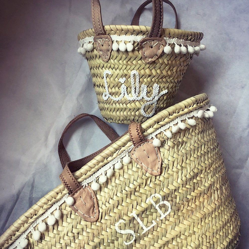 PLAIN LARGE BASKET - £60