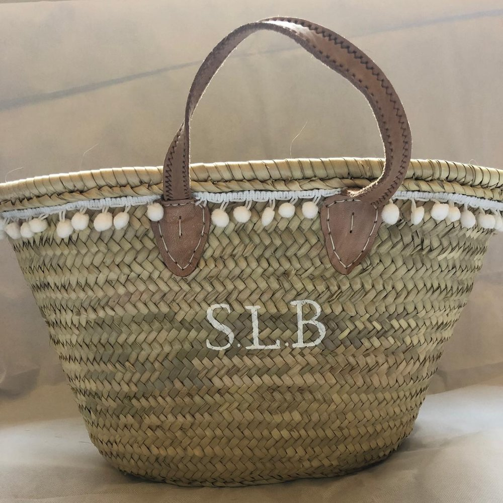 PLAIN MEDIUM BASKET - £50
