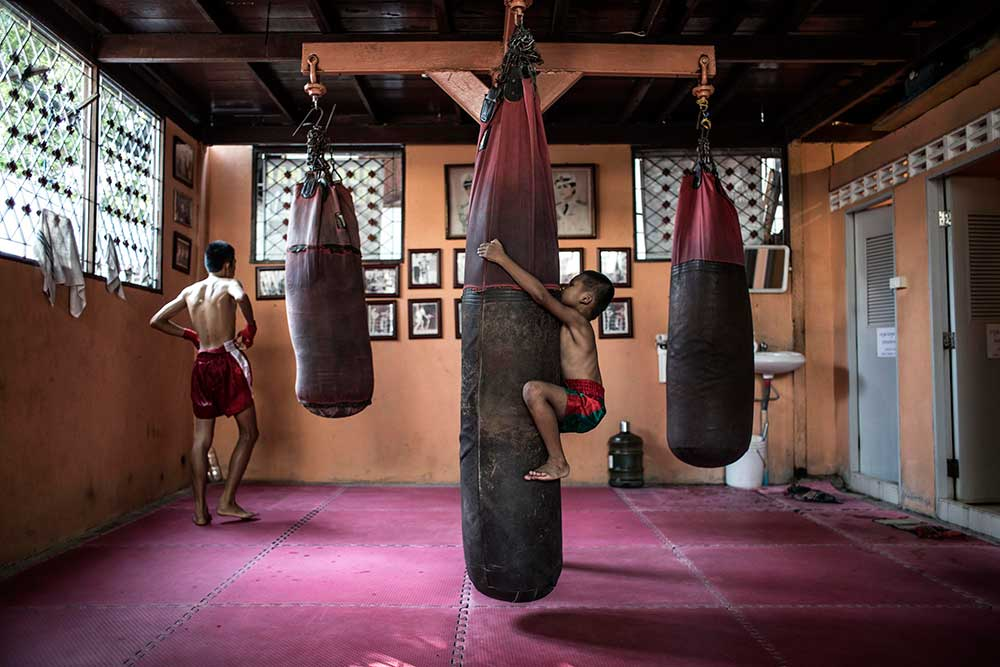 Making a Muay Thai Champion
