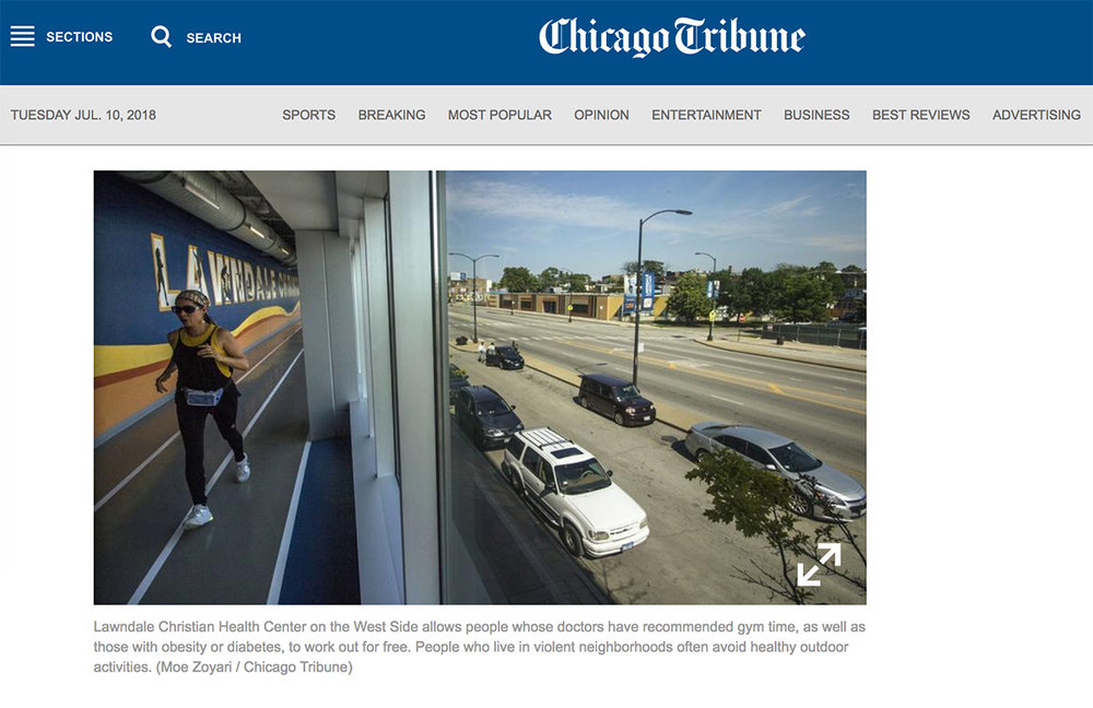 Assignment for Chicago Tribune