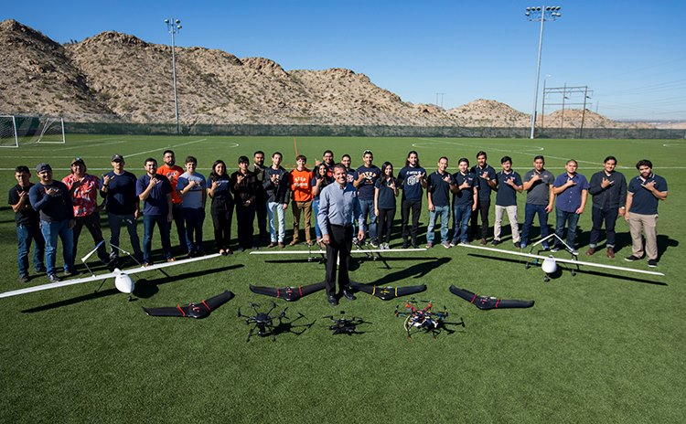 Unmanned Aerial Systems at UTEP are Soaring