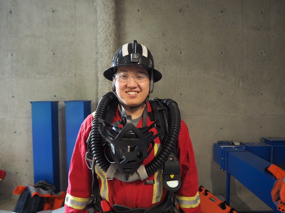 Vince Li       Linkedin   I first learned about Mine Rescue from my older brother who was involved in the beginnings of the UBC Mine Rescue Team. I am also a person who would be able to help in an event of emergency. This will be my beginning of mine rescue and I hope to continue this throughout my career. Also, I hope to help grow our team for the next incoming team members.