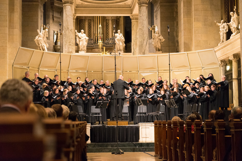 The Twin Cities premiere of the Holy Spirit Mass in the Basilica of Saint Mary - October 27, 2017