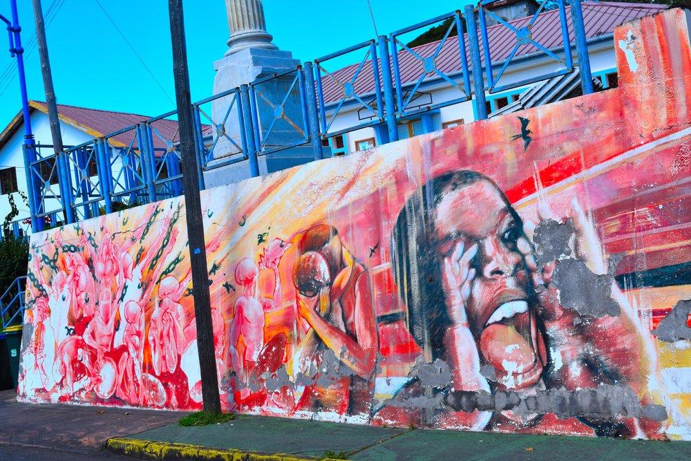 Art in Fort de France, Martinique.