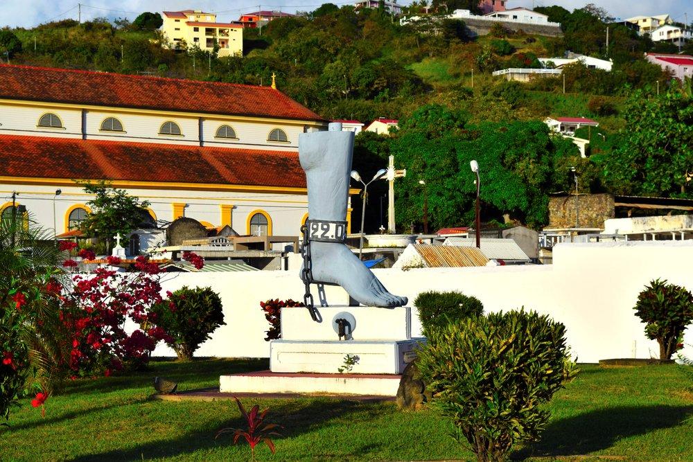 History in Martinique.