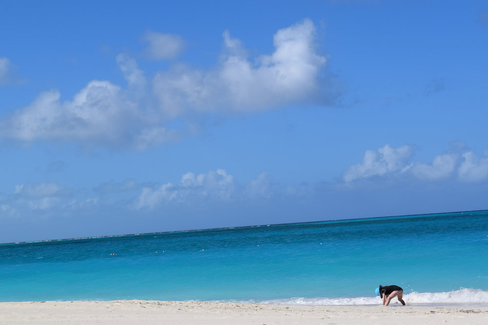 Grace Bay, Turks & Caicos.