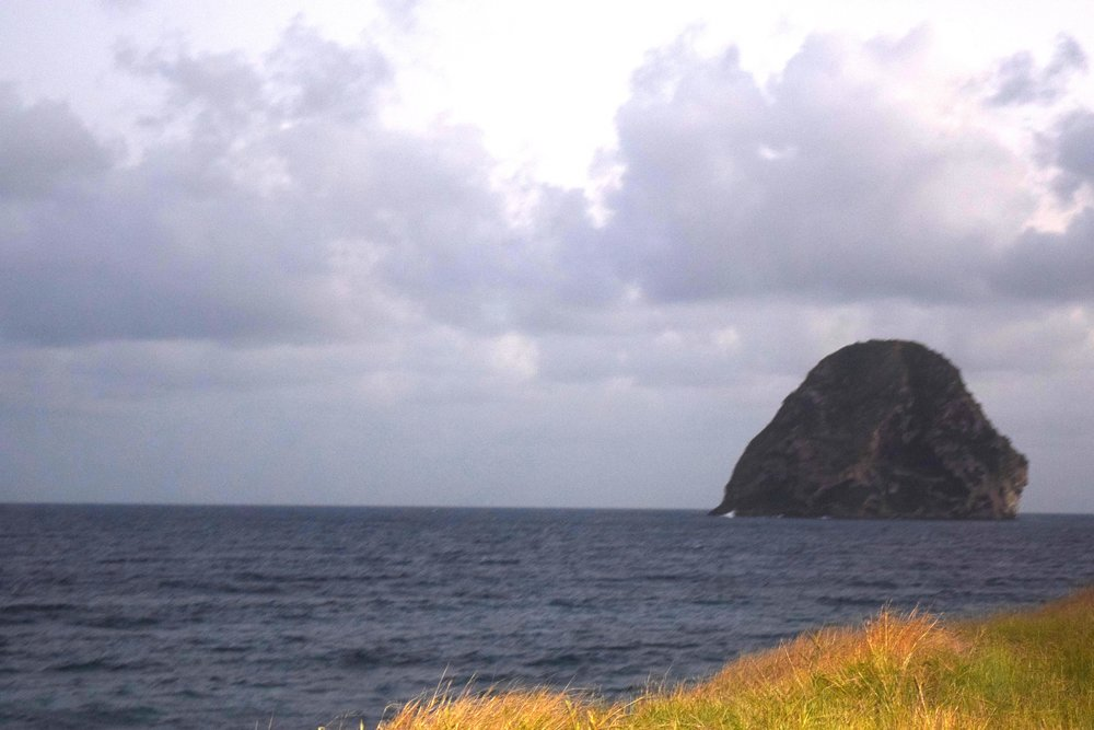 Diamond Rock in Martinique.