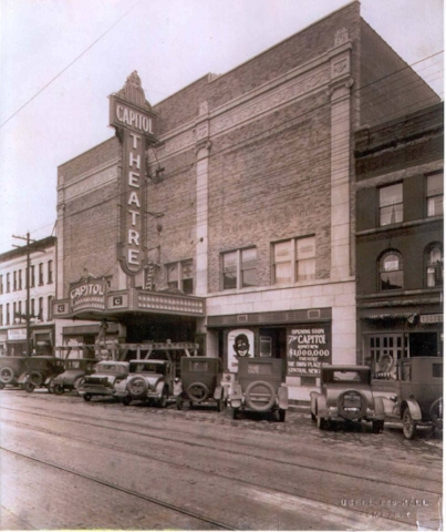 Rome's new Capitol Theatre, circa November 1928, just prior to its December 10 opening.