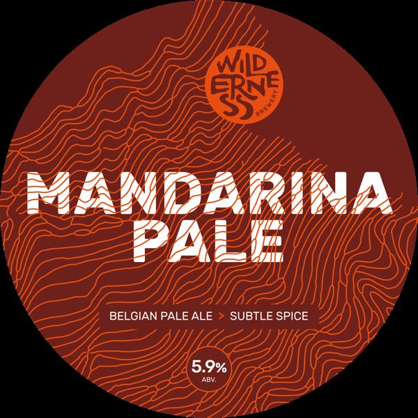 Mandarina Pale - Restrained, subtle Belgian-style pale ale5.9% ABVCask & bottle