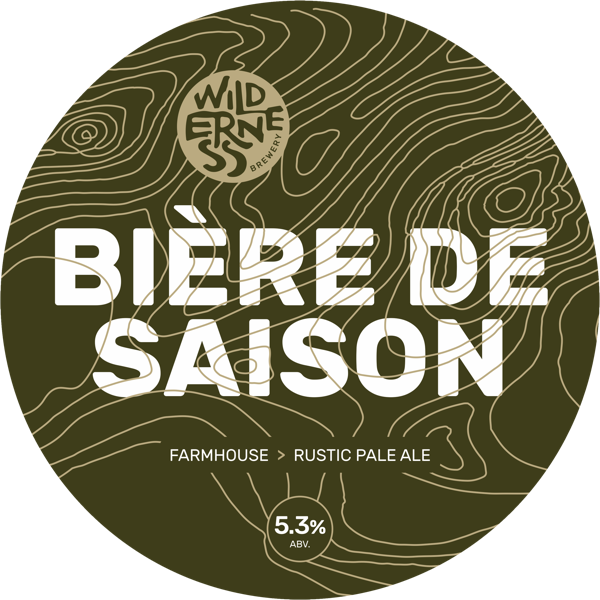 Bière de Saison - Rustic and earthy farmhouse pale ale5.3% ABVKeg & bottle