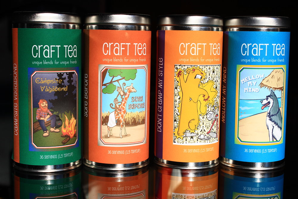 Craft Tea Tins