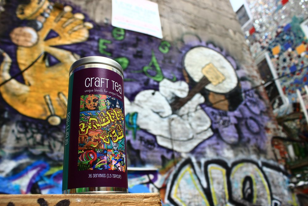 Graffi-Tea in South Philly