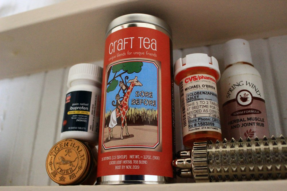 Sore Before - What's in Your Medicine Cabinet?