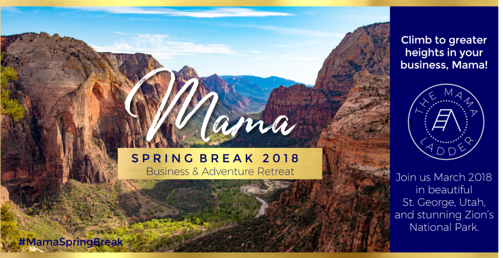 mama spring break 2018 with the mamaladder international