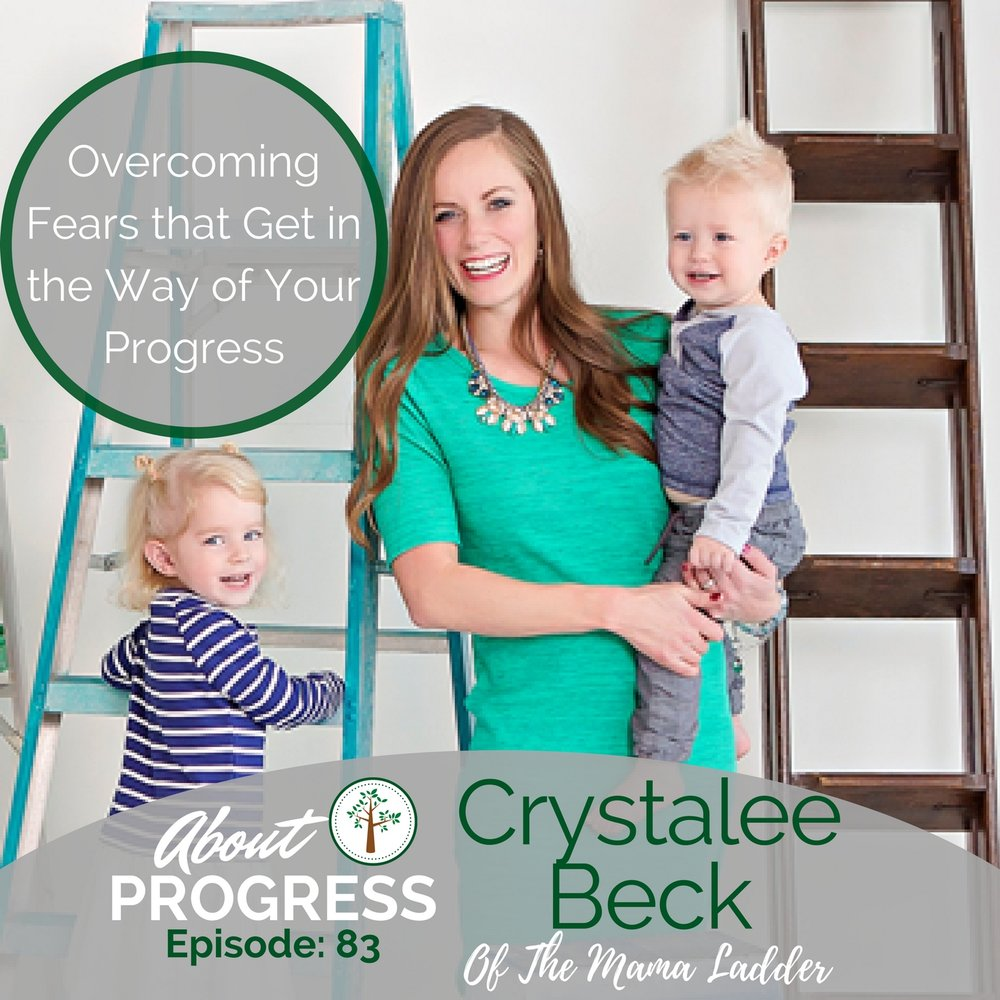 Crystalee Beck on About Progress