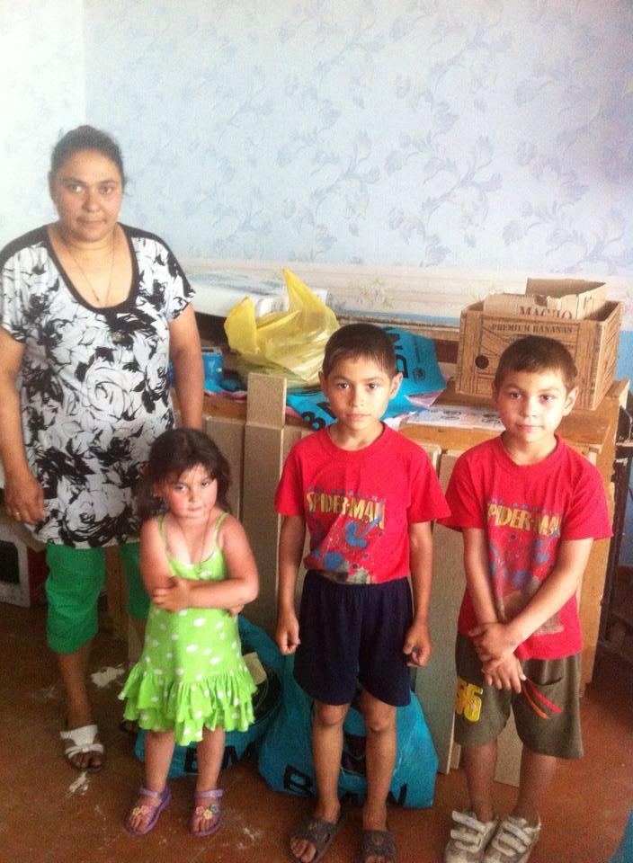 families receiving help