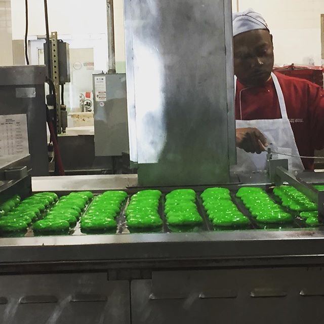 Happy St. Patrick's Day! Luck of the Irish at Krispy Kreme!