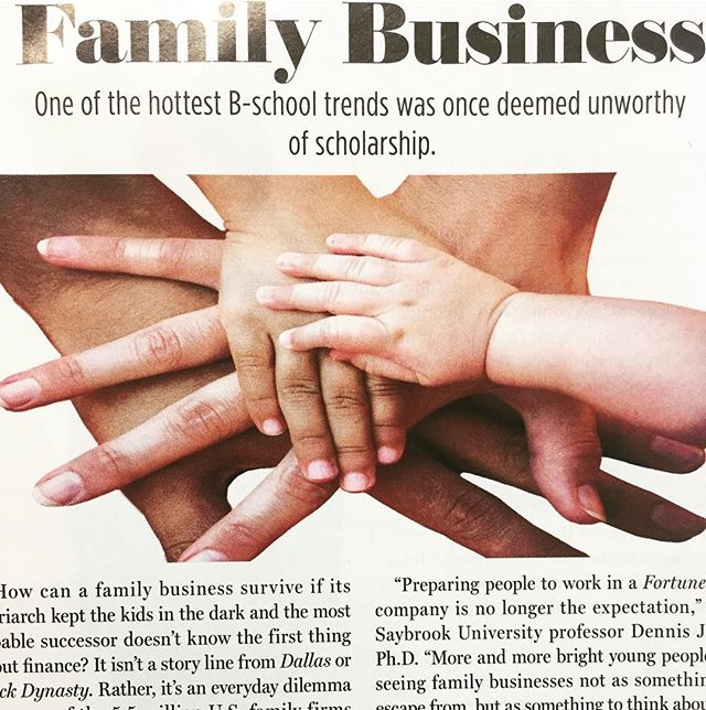 """US family firms employ 63% of the workforce."" It's our pleasure every day!"